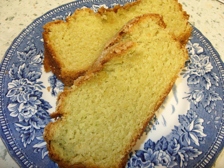 Jenny Eatwell's Rhubarb & Ginger: Avocado Pound Cake - score!