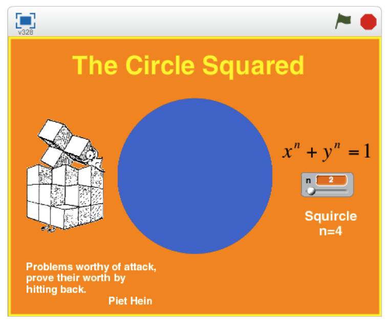 how to make a square in scrath