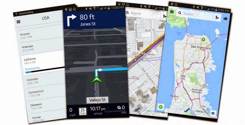 10 Best Android Applications of 2014 here maps
