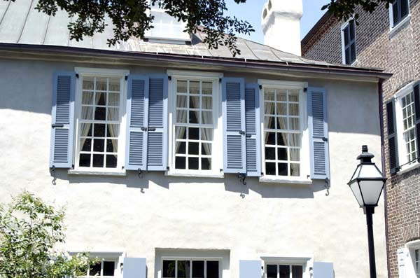 Our French Inspired Home French Inspired House Design Exterior Shutters