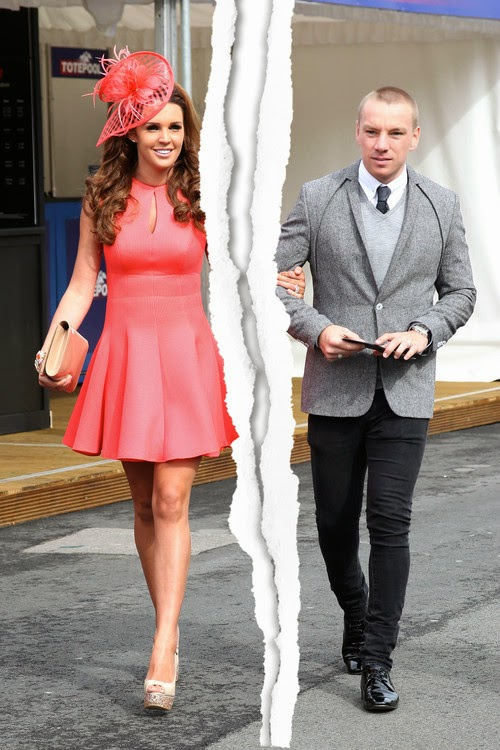 Danielle Lloyd & Jamie O'Hara divorce