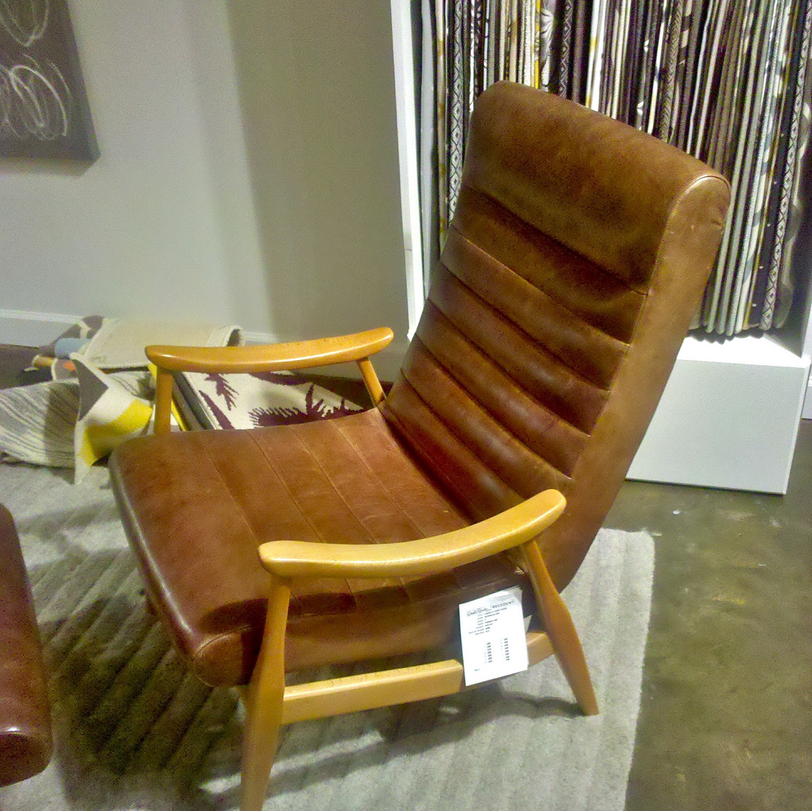 dwell studio furniture. Dwell Studio Furniture. This Hans Leather Chair Is Also Headed Our Way! Furniture \