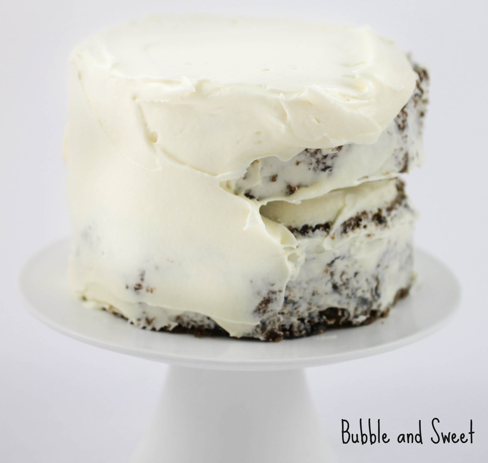 ... and Sweet: Puple Carrot and Blueberry cake with Cream Cheese Frosting