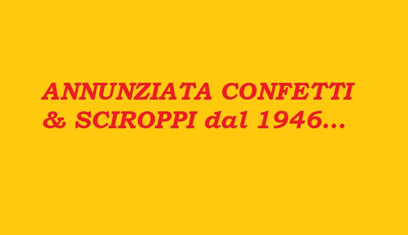 Collaborazione Annunziata Confetti & Sciroppi