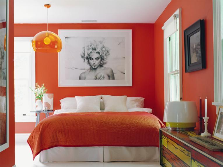 Dormitorios color naranja dormitorios con estilo for Diseno habitaciones pequenas