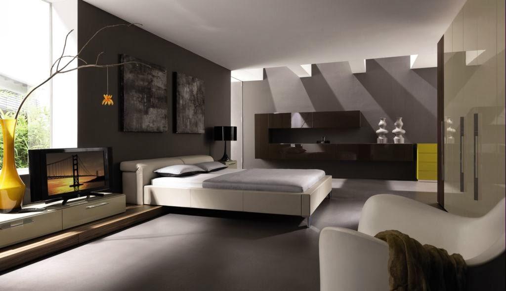 desain kamar tidur utama minimalis modern dan elegan