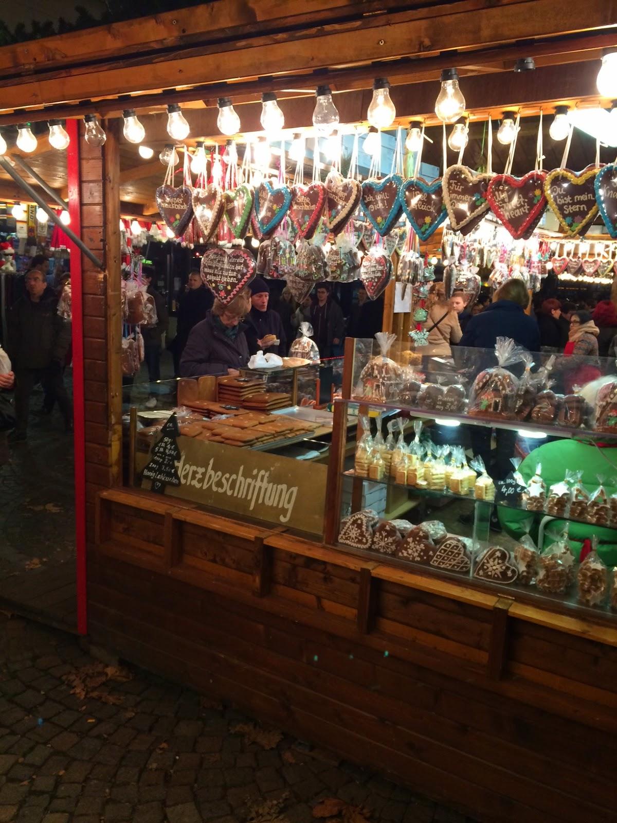 Weihnachtsmarkt en Frankfurt