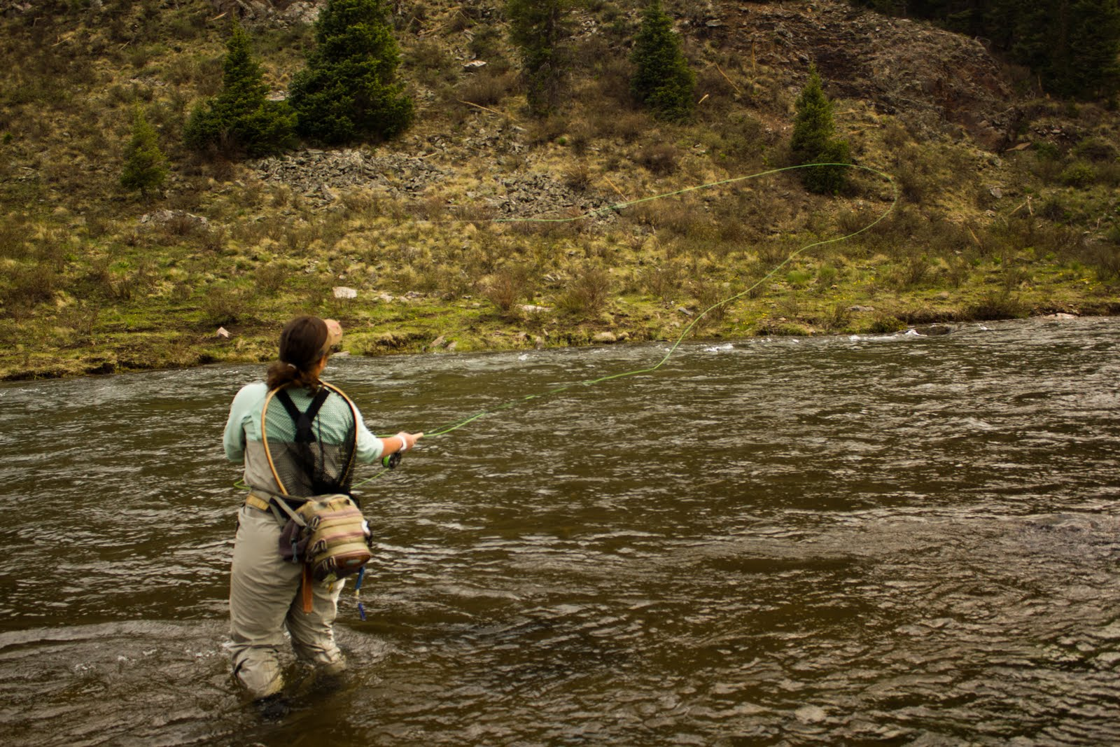 Conejos river anglers current news nymphing the conejos river for Fly fishing split shot