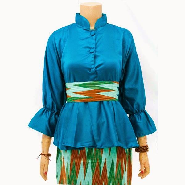 Dress Muslim Batik Motif Rang Rang