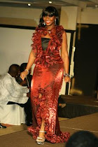 AJU AT CELEBRITY CAT WALK DURING JD 7 FASHION  SHOW.