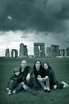 The Hitters at Stonehenge