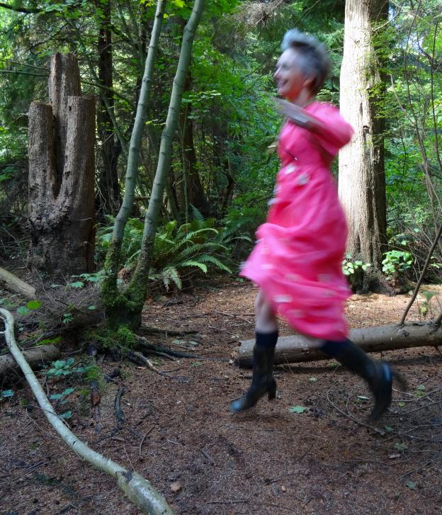 Melanie Kobayashi, Joyful Nature Woman, Stanley Park
