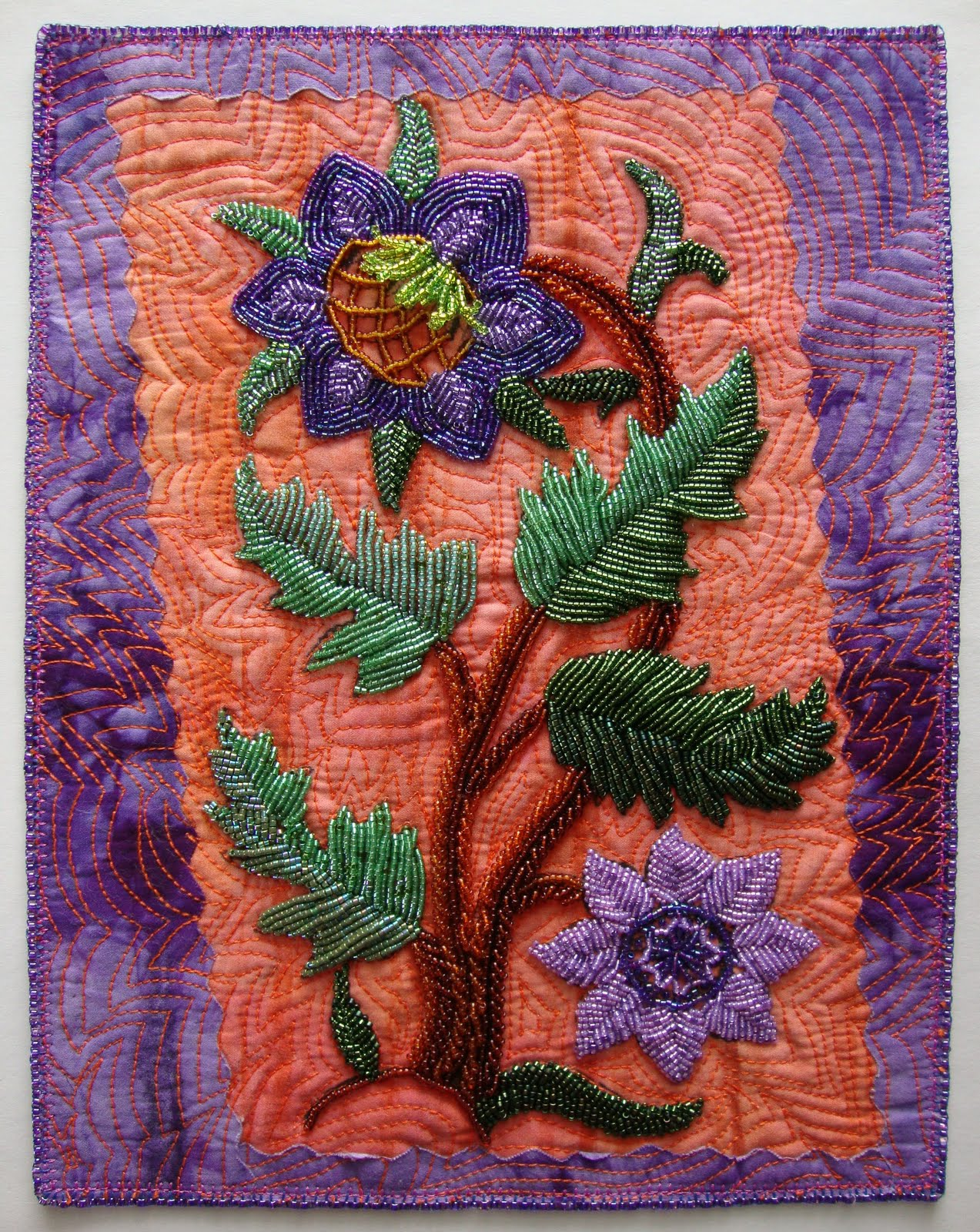 Beading arts bead embroidery artists from the archives
