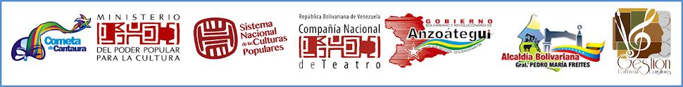 Patrocinantes XII Festival de Teatro para los Vecinos Cantaura 2014