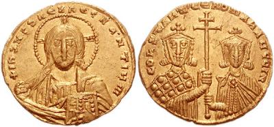 Χρυσός σόλιδος του Ρωμανού Β'