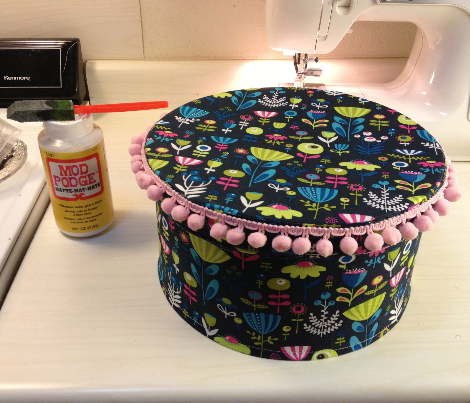 how to make a hat box
