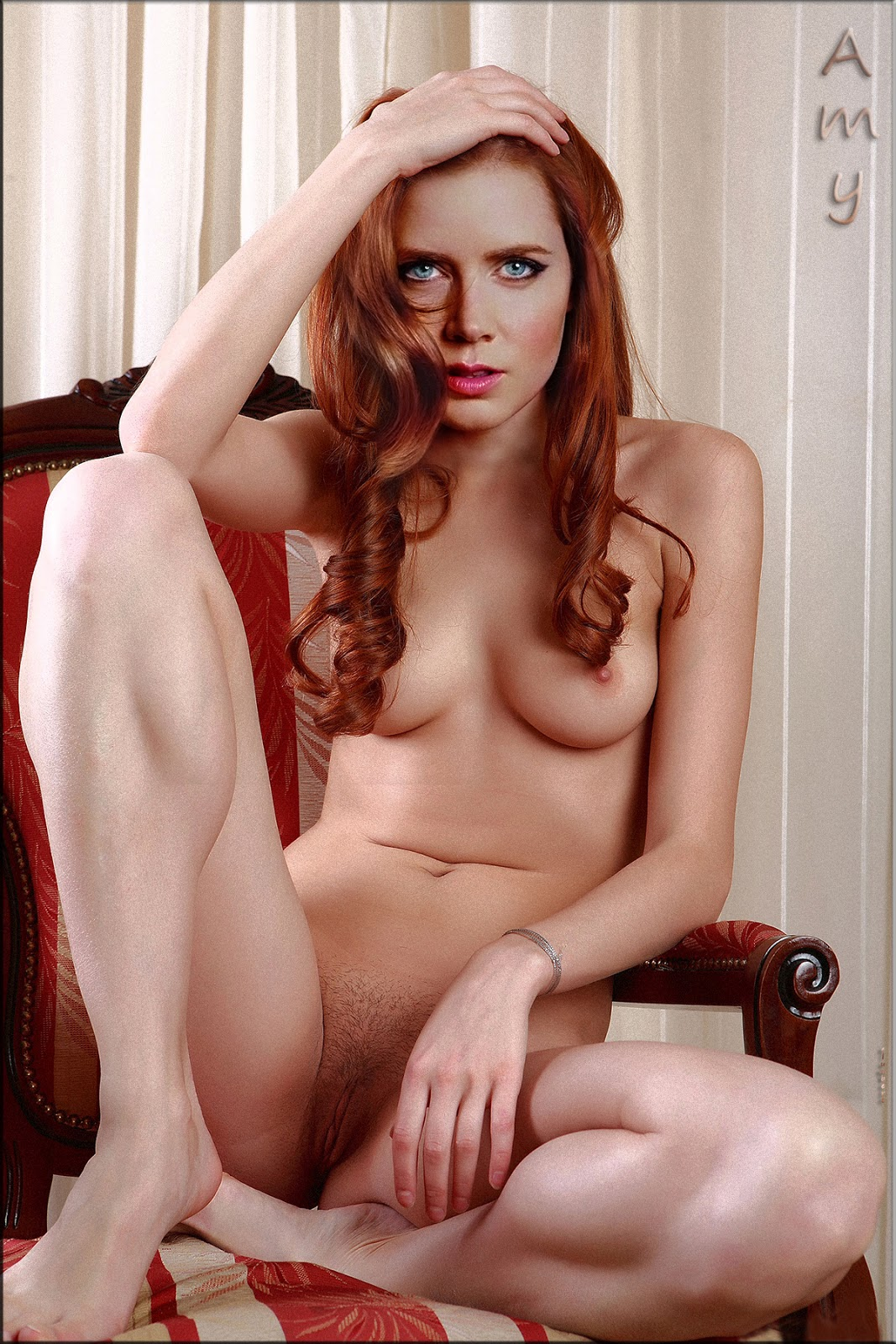Fini Lo Amy Adams Nude Showing Her Boobs Trimmed Pussy Fake