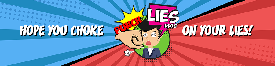 PUNCH THE LIES BLOG