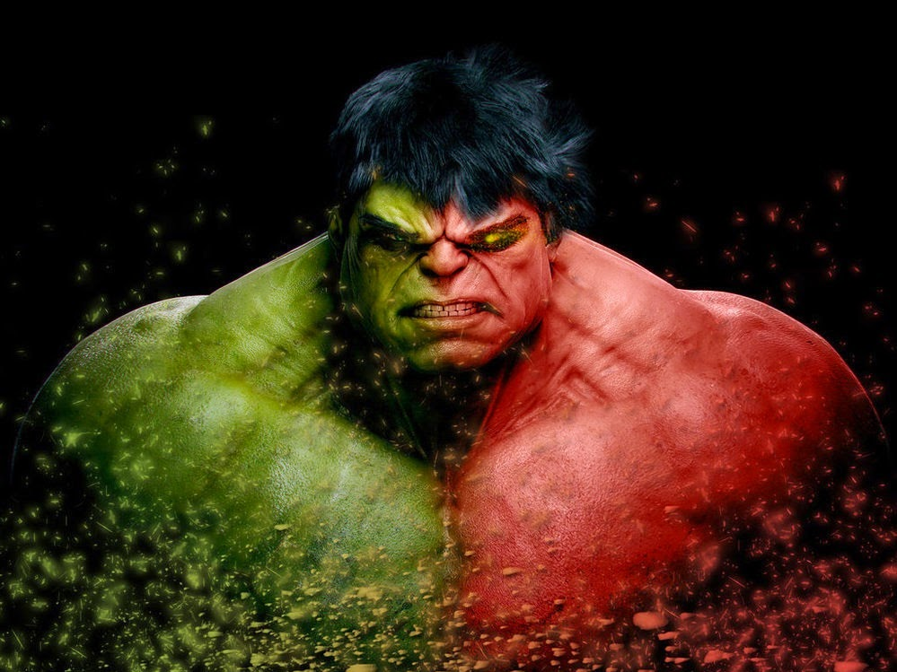 red green hulk