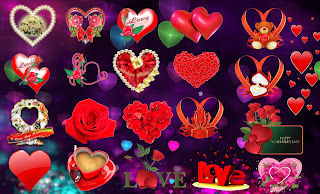 Huge Hearts HQ Png Collections New 2015