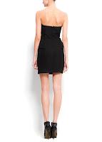 mango siyah elbise modeli