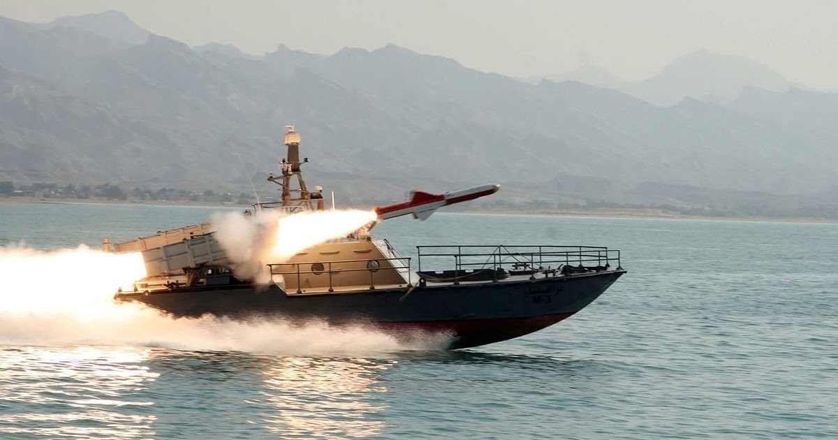 Iranian Short Range Nasr 1 Anti Ship Cruise Missile