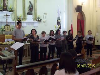Coral Municipal de Teresópolis se apresentou no Música na Matriz