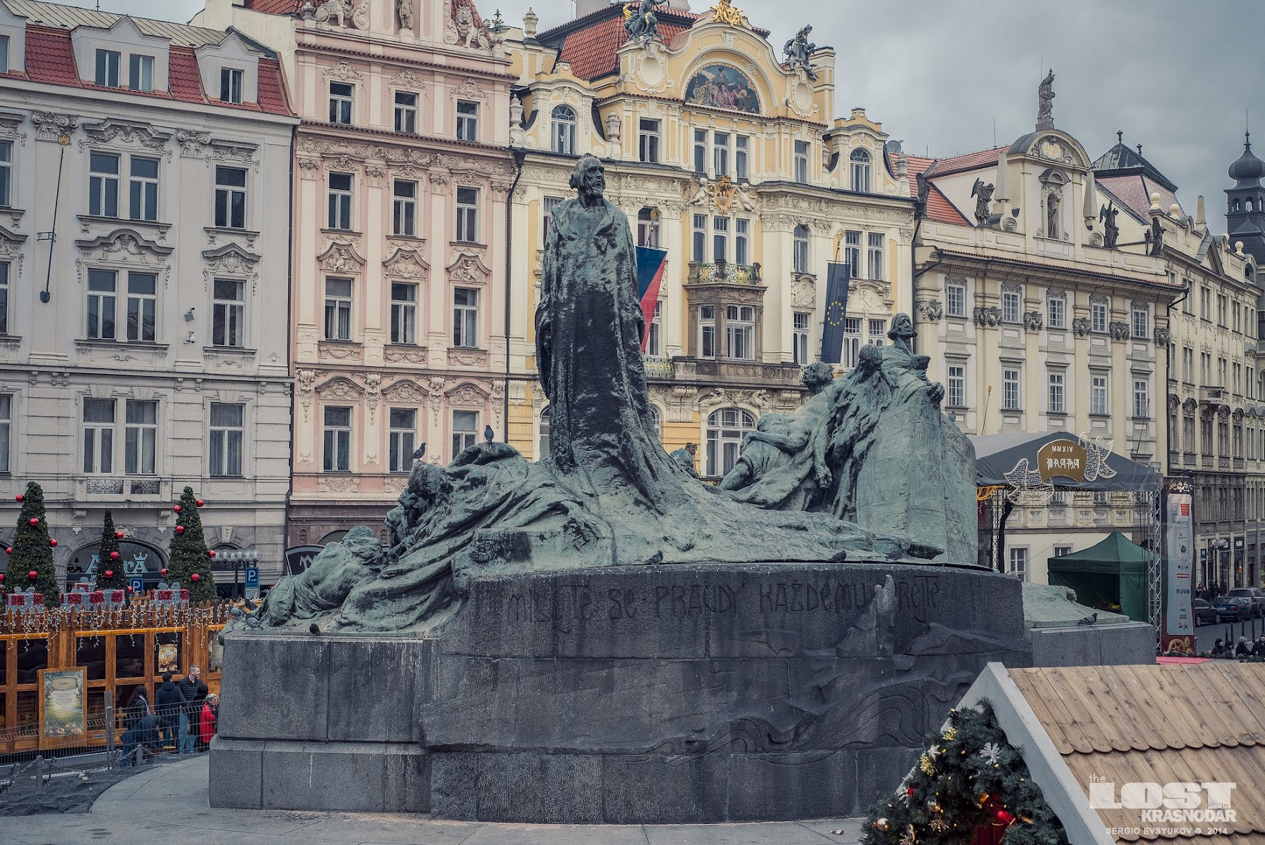 The Memorial in Old Town Square