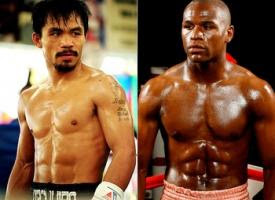 Floyd Mayweather Jr. to Manny Pacquiao