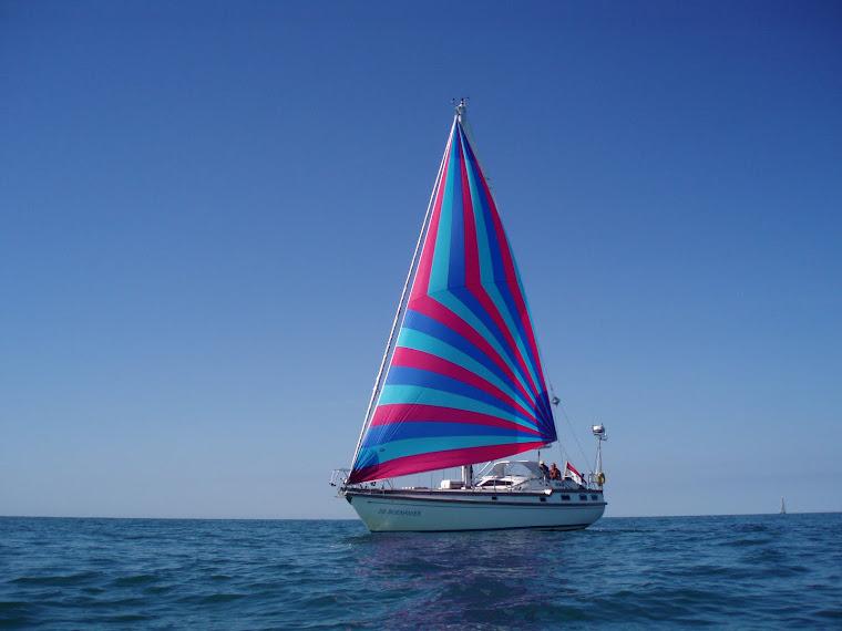 De Boekanier op zee