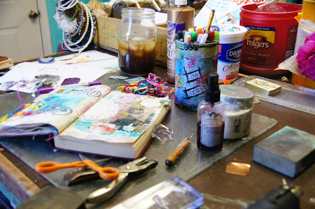 art journaling linda peterson