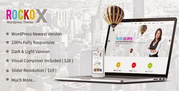 RockoX - Responsive One Page Parallax WP Theme