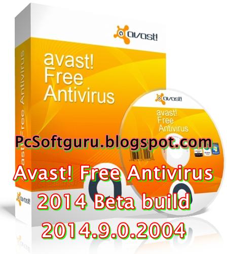 Avast! Free Antivirus 2014 Beta build 2014.9.0.2004