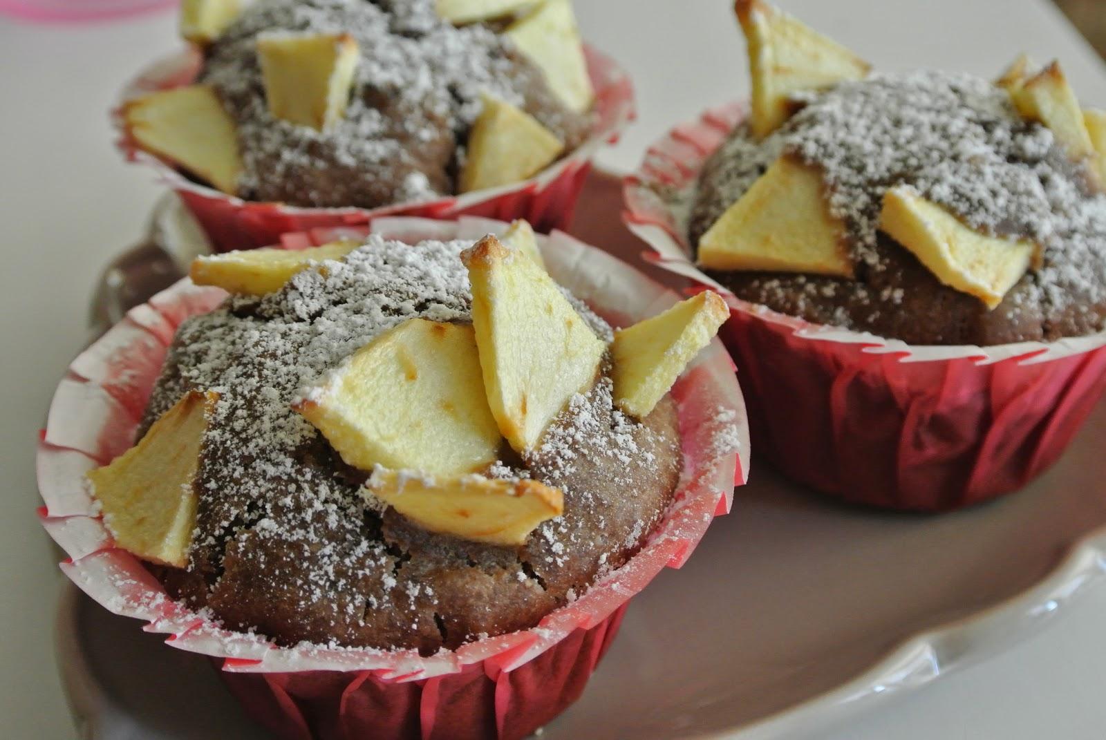 muffin con sciroppo d'agave