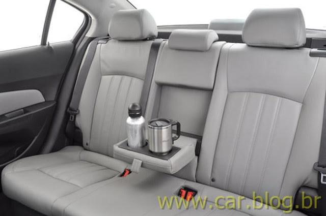 Chevrolet Cruze LTZ 2012 - bancos traseiros