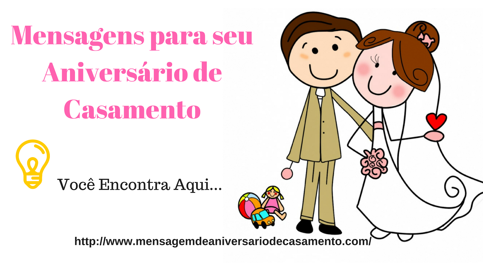 Mensagem de Aniversario de Casamento