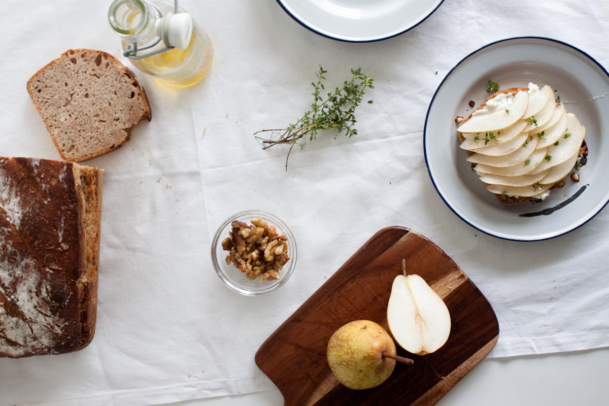 Pear, Raspberry And Goat Cheese Crostini Recipes — Dishmaps