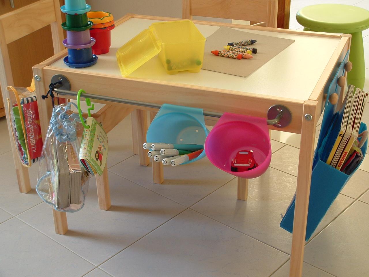 Детский столик для ребенка своими руками 29