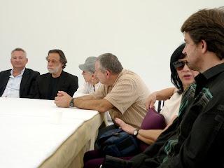 Sydia Reyes, Javier Level, Jeanine de Vigas, Rolando Peña