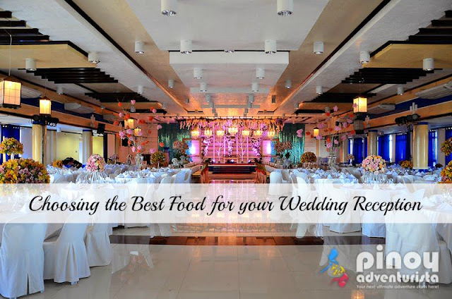 How to choose the Best Food for your Wedding Reception