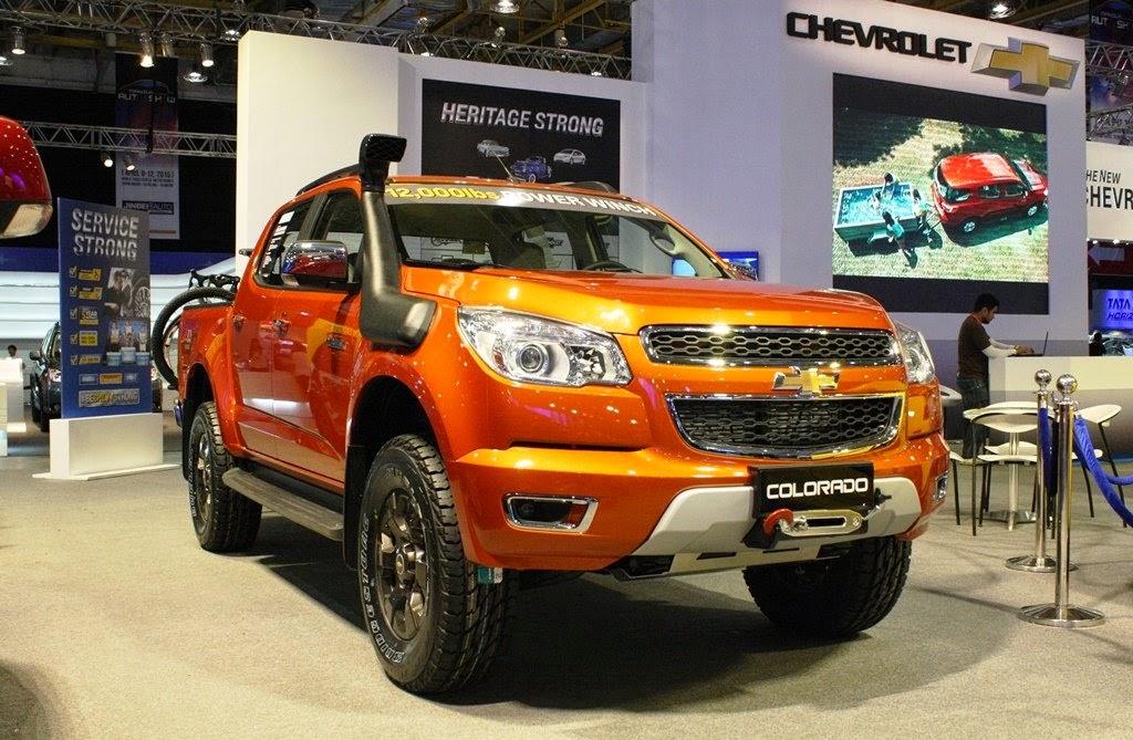 2015 Chevrolet Colorado Tracker Edition