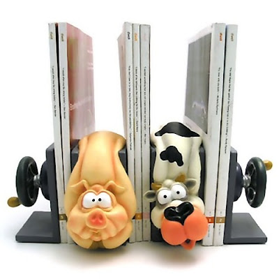 Unique and Creative Bookends (20) 6
