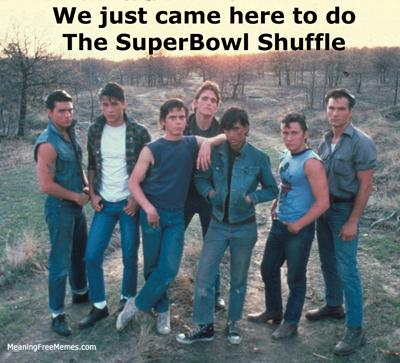 Outsiders Superbowl Shuffle