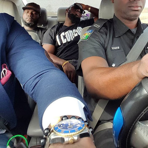 Photo: Timaya Takes A Trip  To Warri By Road Because  Airlines Complained Of Bad  Weather