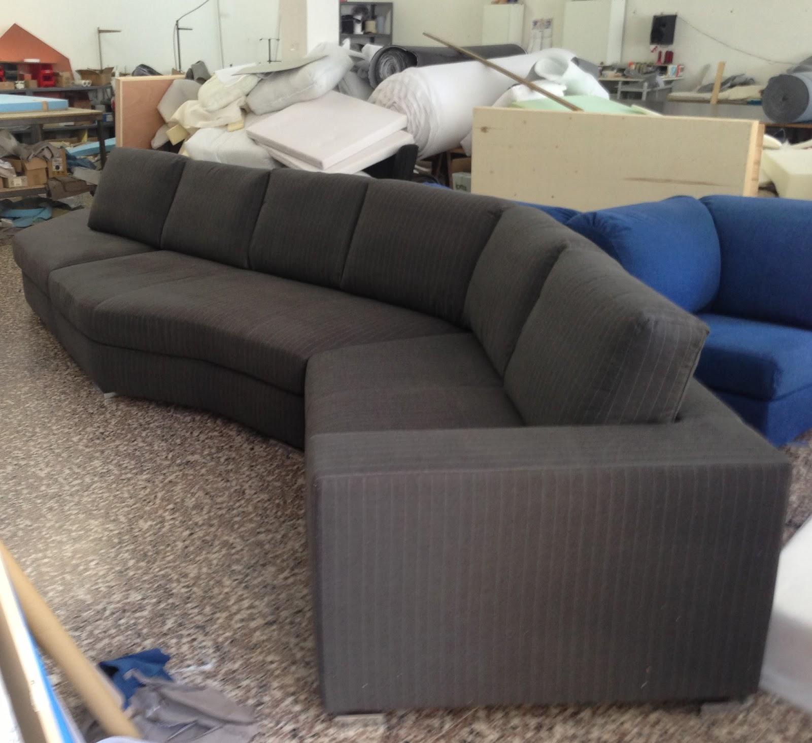 Divani e divani letto su misura un divano su misura dalla - Divano letto su misura ...