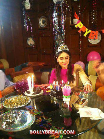 Kareena celebrating her bday -  Happy Birthday!!! To our dearest Kareena Kapoor(bebo)