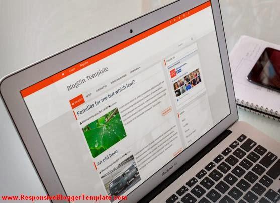 Blogzin Responsive Blogger Template