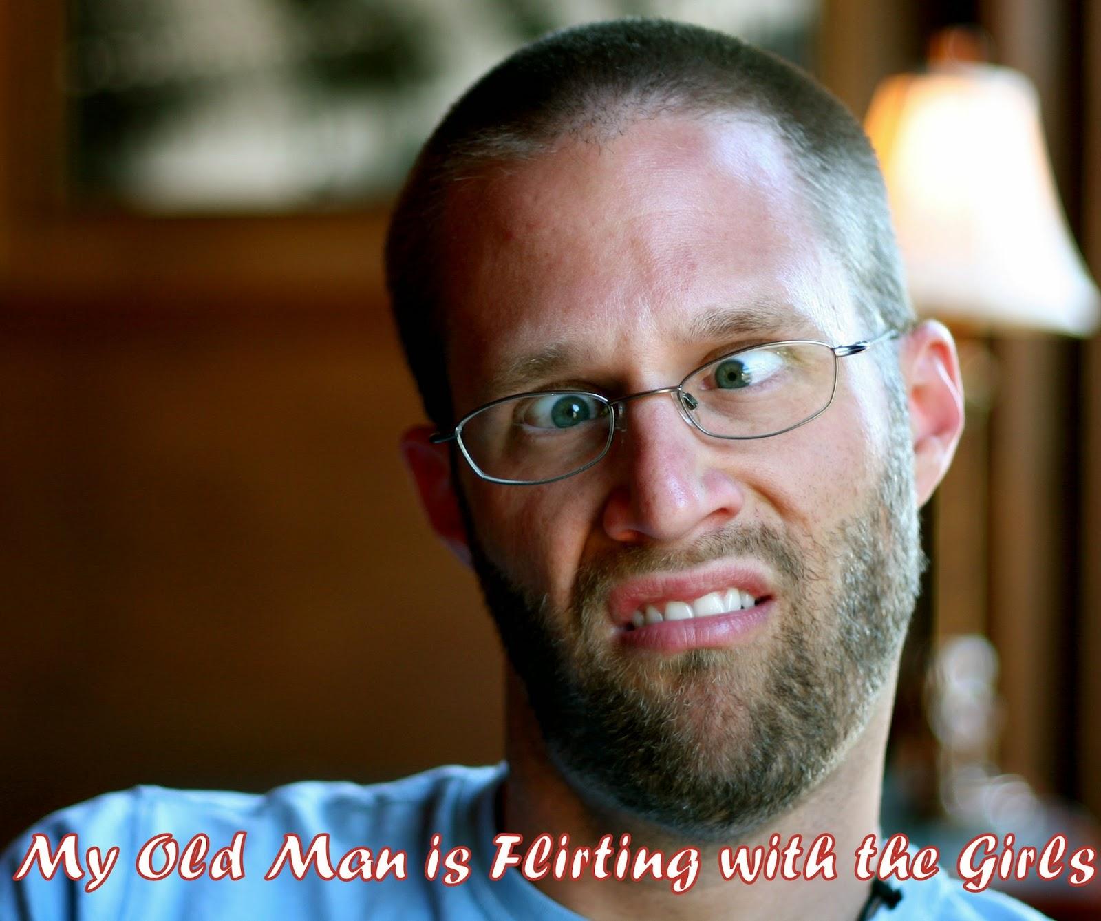 Flirting with older men