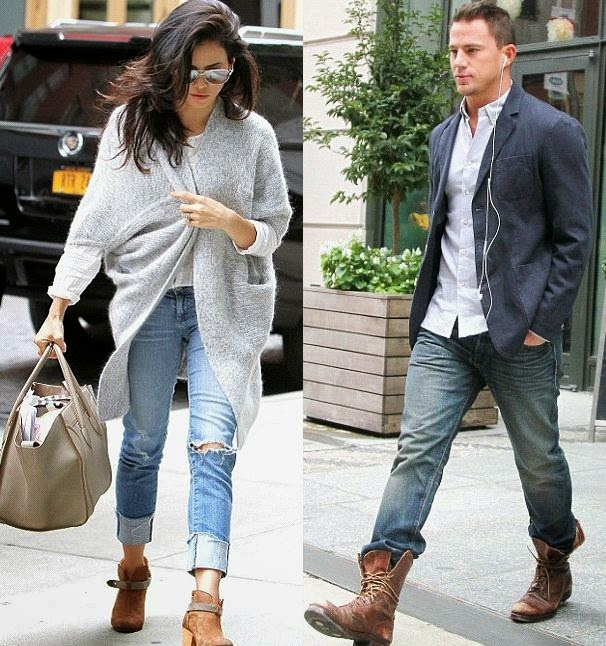 What better way to make your family day than with a simple show? The outing was obviously a casual affair as Jenna Dewan was next in line at the hotel in New York, USA on Friday, October 10, 2014.