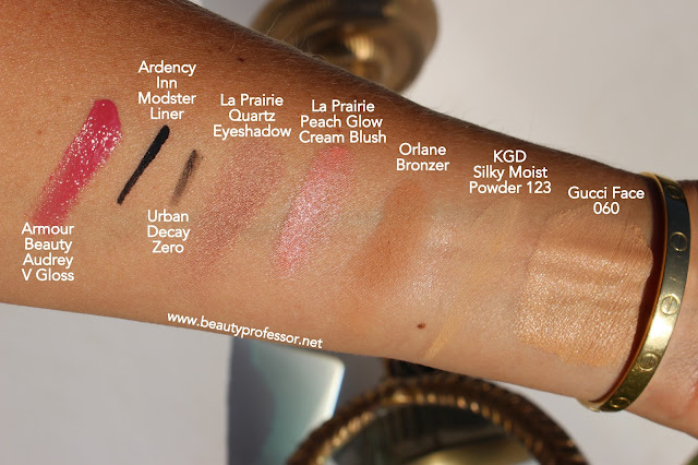 armour beauty audrey v gloss swatch